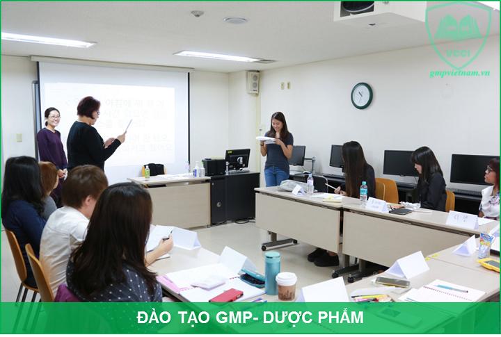 khóa đào tạo GMP dược phẩm uy tín
