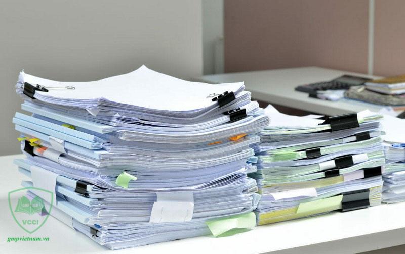 hồ sơ tài liệu đạt chuẩn GMP