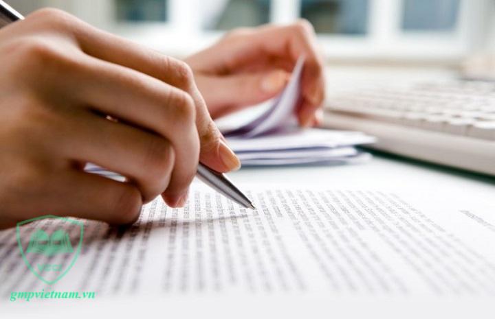 hồ sơ tài liệu GMP trong sản xuất mỹ phẩm
