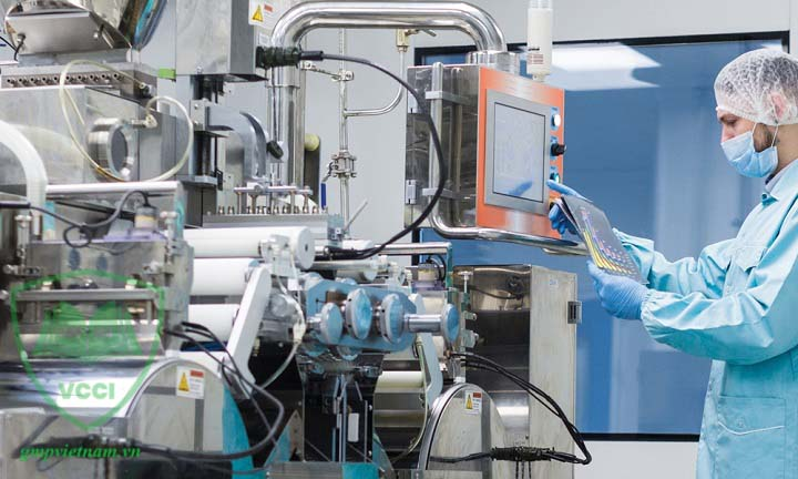quy trình sản xuất đạt chuẩn GMP