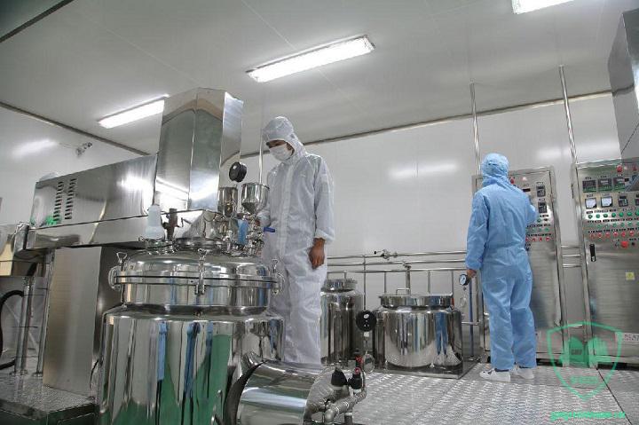 đơn vị thiết kế thi công xưởng sản xuất mỹ phẩm GMP