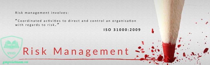 tư vấn ISO 31000 quản lý rủi ro