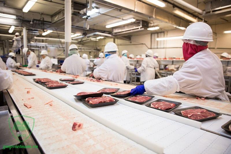 xây dựng xưởng sản xuất thực phẩm theo chuẩn ISO