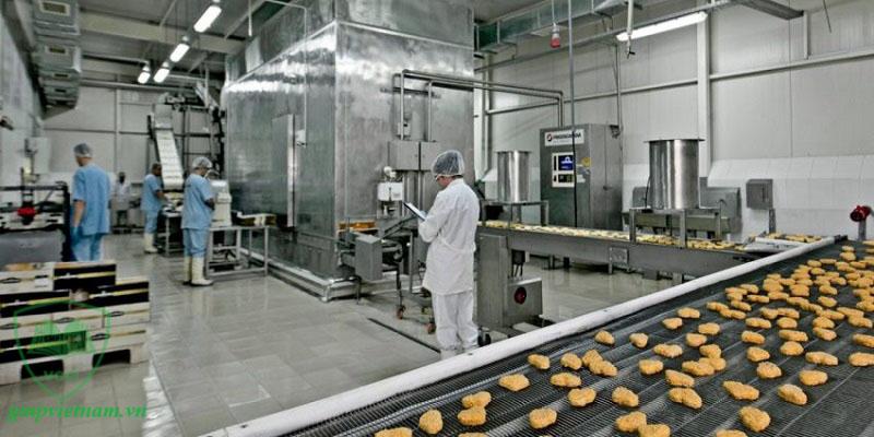 tư vấn xây xưởng sản xuất thực phẩm